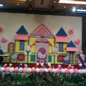 DEKORASI BALON BACKDROP 3 DIMENSI MURAH PHONE: 021-8406705